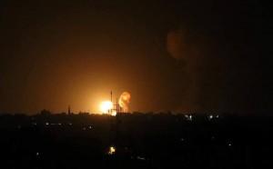Tout Gaza est soumis à des attaques de l'aviation israélienne.3