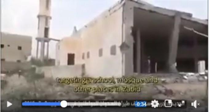 Vous devez tous regarder cette vidéo pour savoir ce que la coalition saoudienne et ses avions de combat font subir à Hodeidah – Yémen