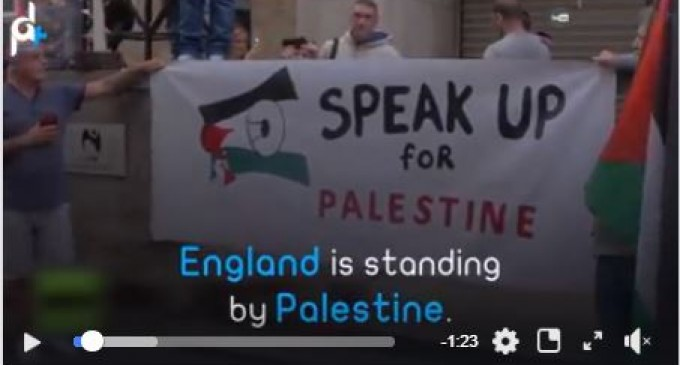 L'Angleterre soutient la Palestine depuis des années