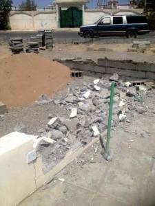 La maudite Arabie détruit les mosquées chiites à Najran3