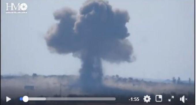 L'Aviation Syrienne a ciblé aujourd'hui de nombreuses positions des terroristes salafistes avec des frappes aériennes précises