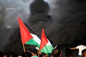 Les Palestiniens de Gaza se sont rendus mardi dans une manifestation de masse à la frontière nord, appelant à briser le siège.1