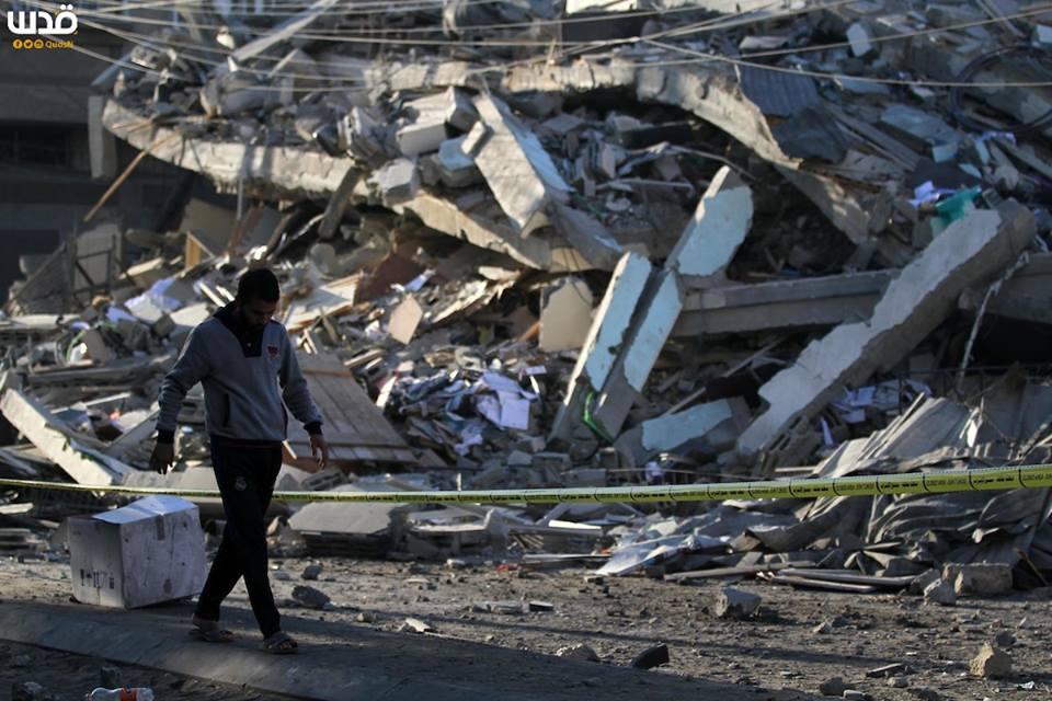 Bilan suite à l'agression israélienne contre l'enclave assiégée depuis lundi1