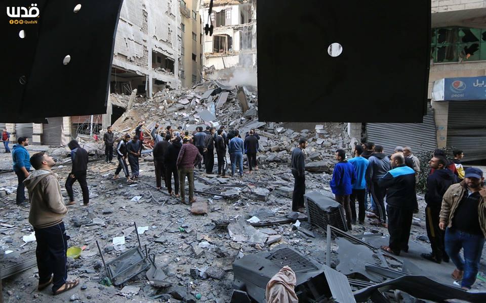 Bilan suite à l'agression israélienne contre l'enclave assiégée depuis lundi2