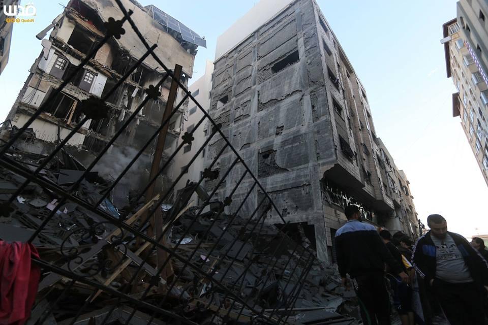 Bilan suite à l'agression israélienne contre l'enclave assiégée depuis lundi3
