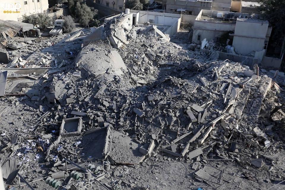 Bilan suite à l'agression israélienne contre l'enclave assiégée depuis lundi4