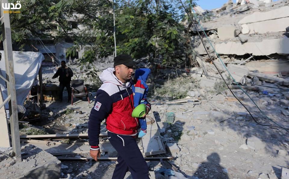 Bilan suite à l'agression israélienne contre l'enclave assiégée depuis lundi5