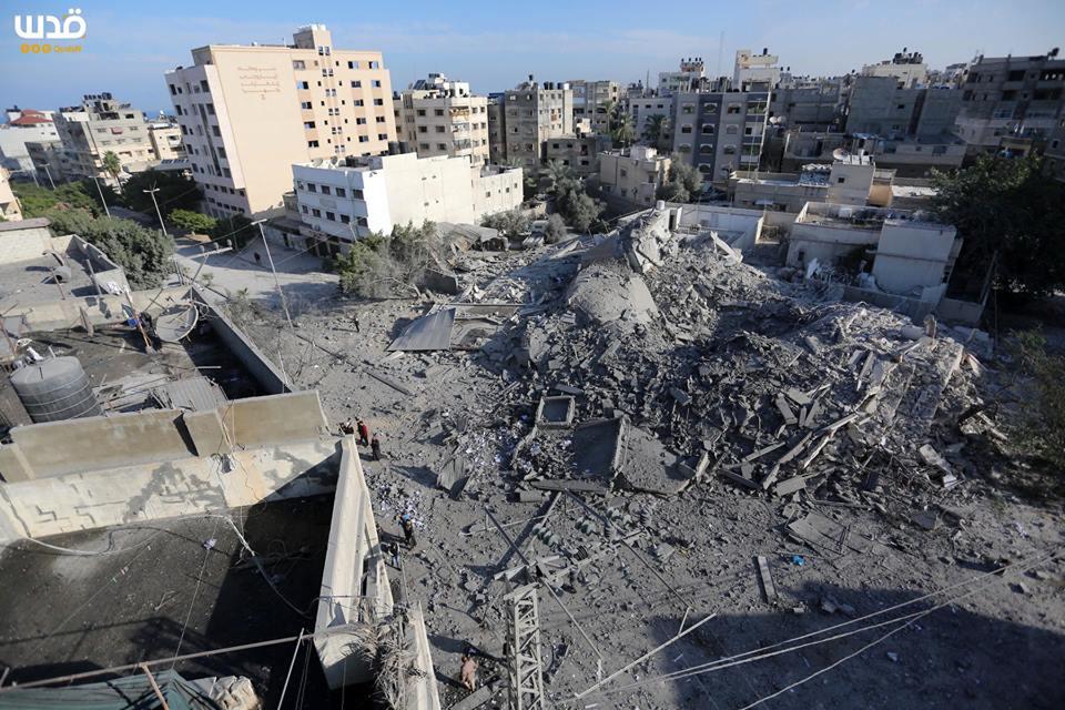 Bilan suite à l'agression israélienne contre l'enclave assiégée depuis lundi6