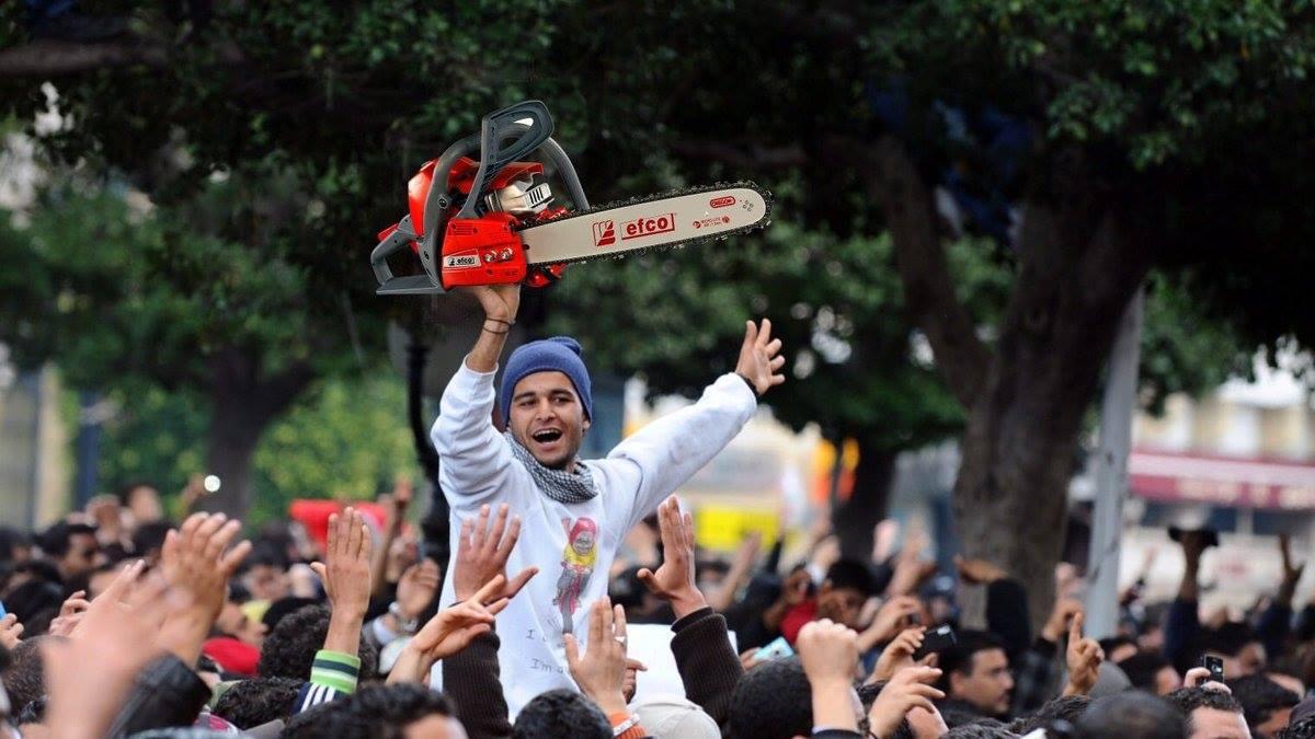Des centaines de personnes ont manifestés dans les rues pour protester contre la visite de Muhammad bin salman en Tunisie.2