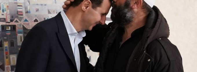 Hier, le président Bachar Al Assad a rencontré les habitants enlevés d'al-Souwayda