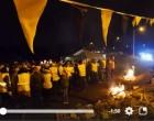 Gilets jaunes : à Somain, un prêtre a célébré une messe de Noël sur un rond-point