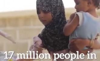 17 millions de femmes, d'enfants et d'hommes au Yémen sont confrontés à la famine