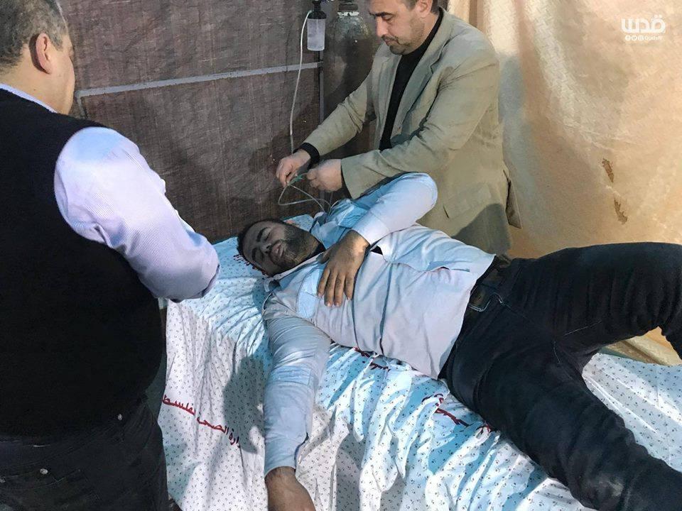 4 médecins Palestiniens ont été étouffés par inhalation de gaz 7