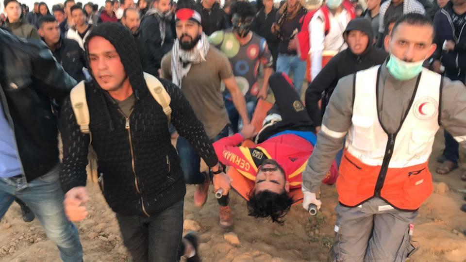 4 médecins Palestiniens ont été étouffés par inhalation de gaz4