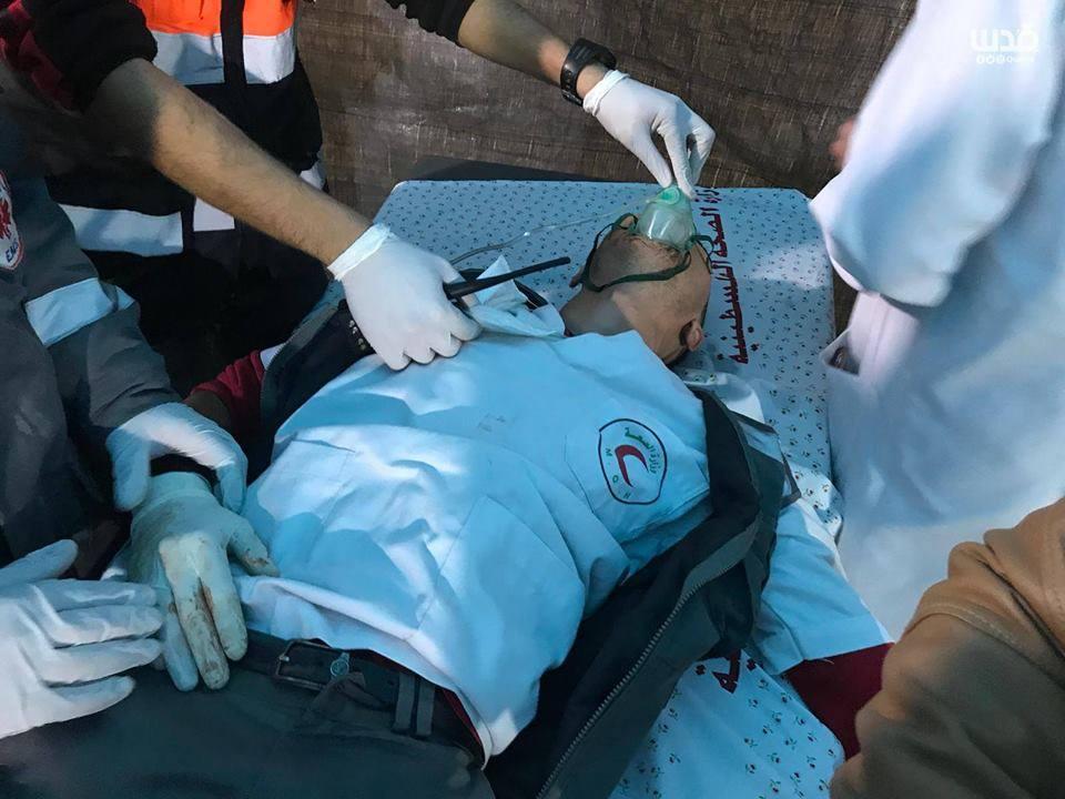 4 médecins Palestiniens ont été étouffés par inhalation de gaz5