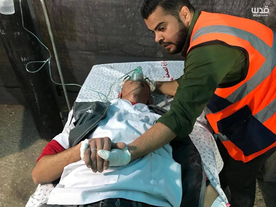 4 médecins Palestiniens ont été étouffés par inhalation de gaz6