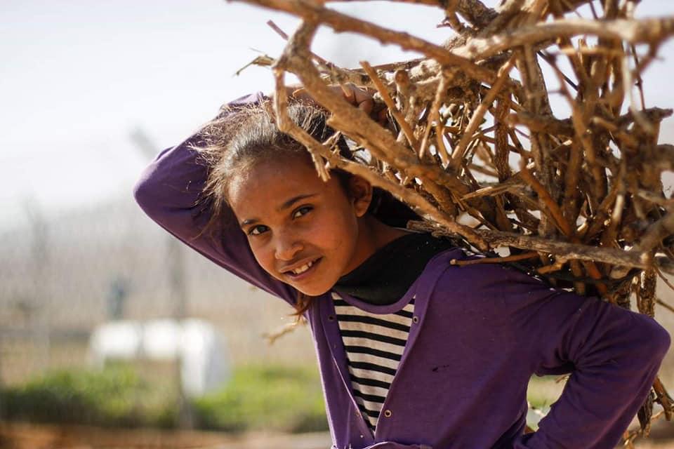 Les enfants palestiniens sans abri doivent faire face à une atmosphère froide d'hiver dans la région de la vallée du Jourdain, en Cisjordanie occupée.3