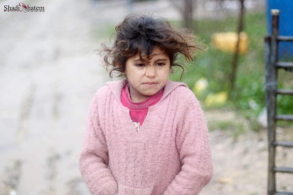 Les enfants palestiniens sans abri doivent faire face à une atmosphère froide d'hiver dans la région de la vallée du Jourdain, en Cisjordanie occupée.6