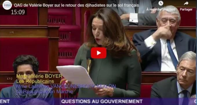 130 djihadistes seront de retour en France : Députée Valérie Boyer interpelle Castaner à l'Assemblée