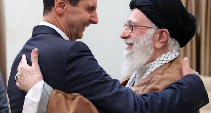 Bachar el-Assad en Iran, rencontre le guide l'ayatollah seyyed Ali el-Khaménéi