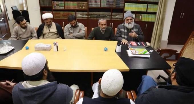 Juste heureux de voir l'unité de nos frères chiites et sunnites au Pakistan…