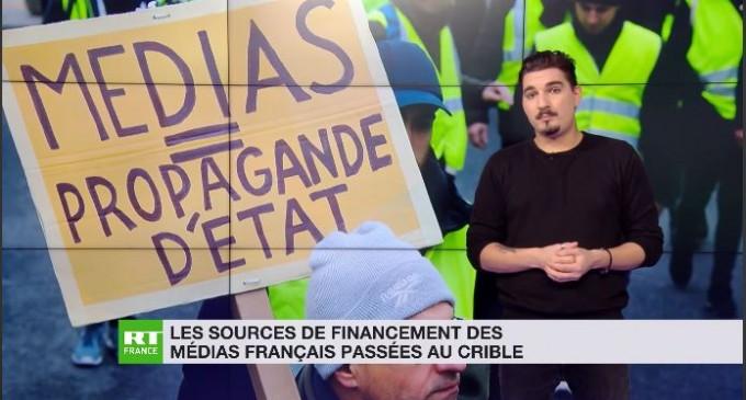 Les sources de financement des médias français passées au crible