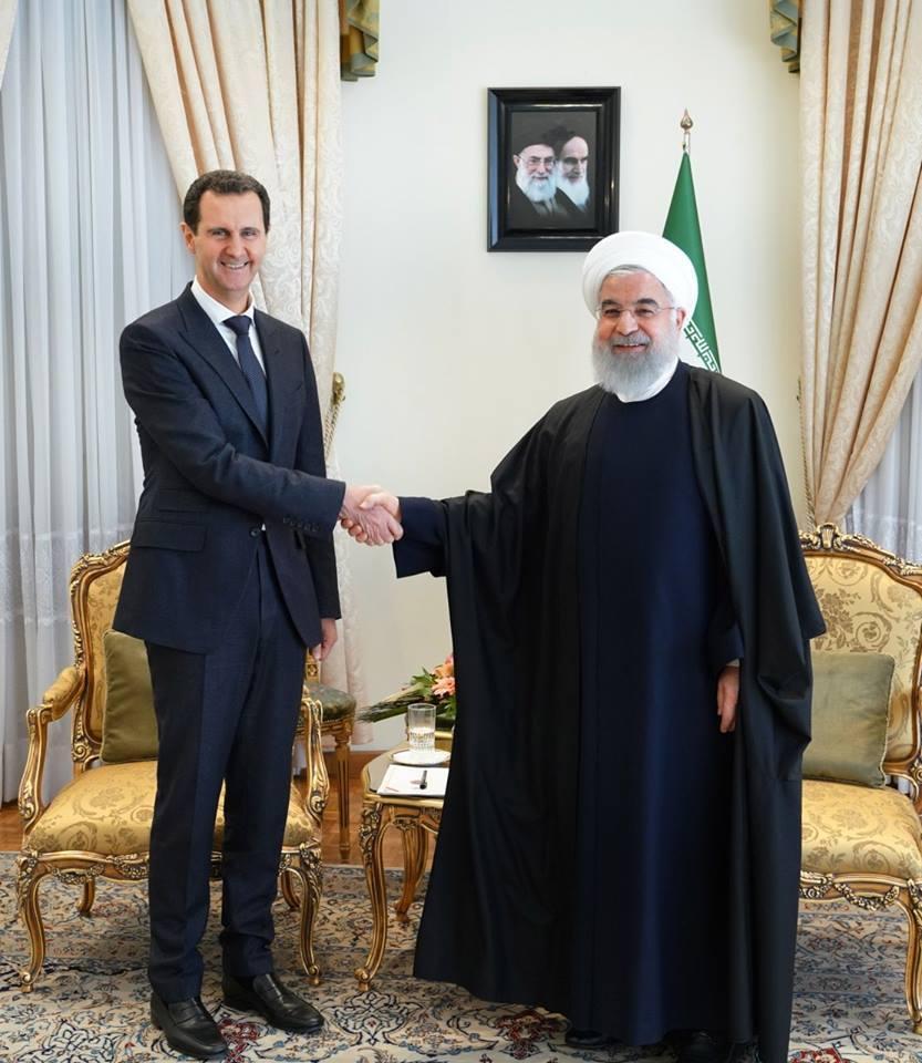Regardez l'accueil chaleureux du Président Assad par le Guide suprême de la révolution iranienne et par le Président Iranien3