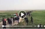 Scènes de la Grande Marche du Retour à la frontière de Gaza aujourd'hui