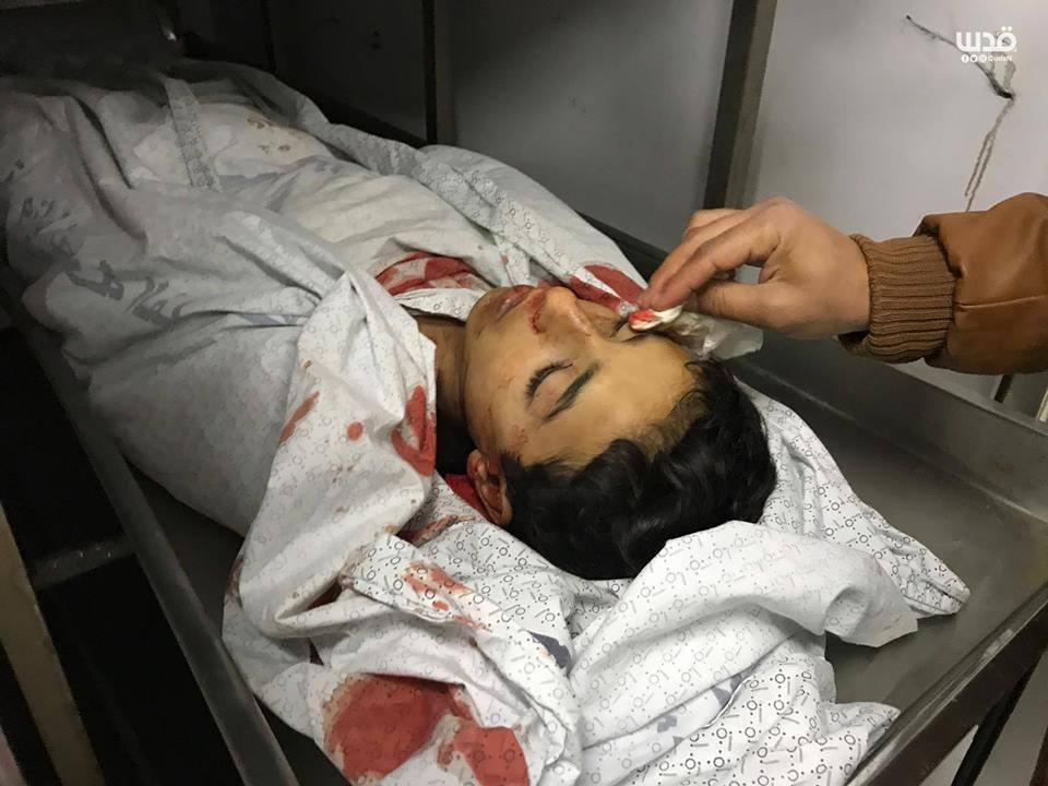 Un adieu au martyr Hassan Shalabi à Gaza2