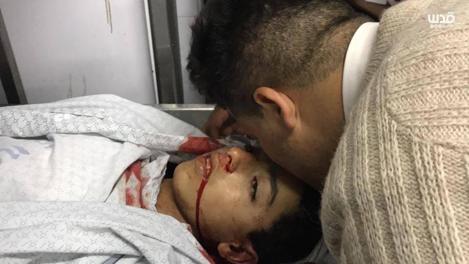 Un adieu au martyr Hassan Shalabi à Gaza3