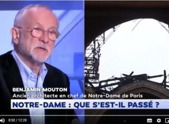 [Vidéo] | Benjamin Mouton, ex-architecte en chef de Notre-Dame-De-Paris : «ça me stupéfie beaucoup…»