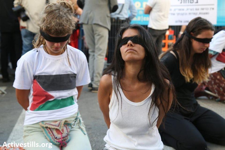 Des militants pro-palestiniens ont bloqué l'entrée de l'événement d'ouverture de l'Eurovision à Tel Aviv3