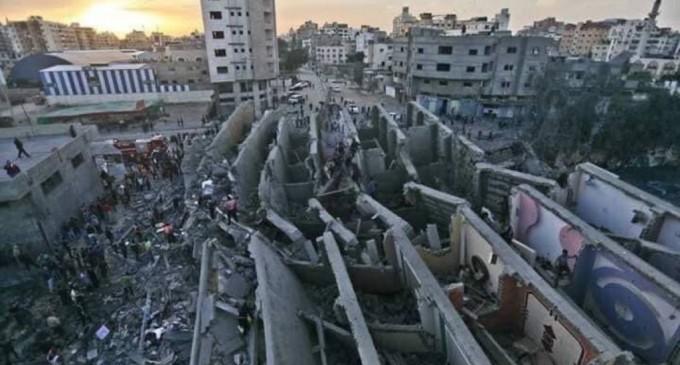 ISRAEL DÉTRUIT 830 UNITÉS RÉSIDENTIELLES DANS LA DERNIÈRE AGRESSION SUR GAZA