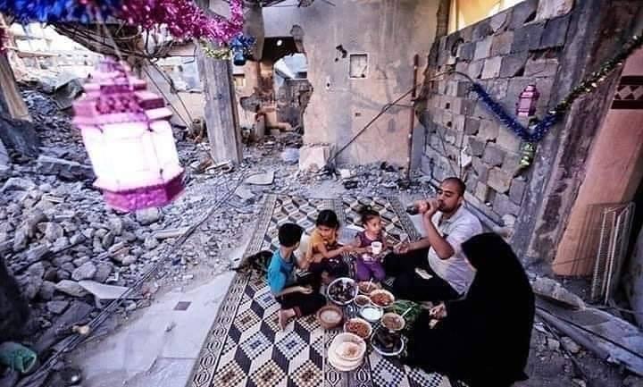 Le Ramadan à Gaza ressemble à ça.