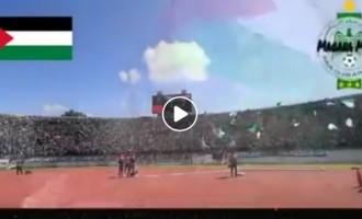 Regardez | Les fans du Raja Casablanca du Maroc chantent pour la Palestine
