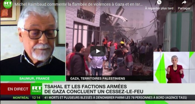 Michel Raimbaud commente la flambée de violences à Gaza et en Israël