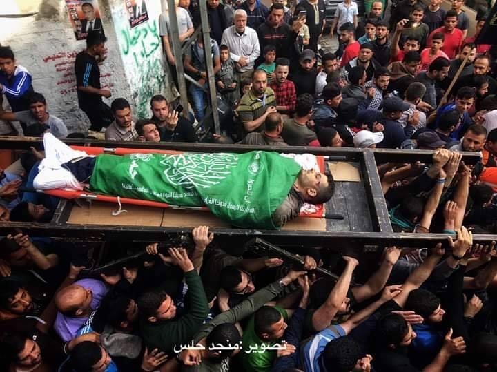 Repose en paix, Hamed Al-Khoudari, 34 ans. Sa voiture a été frappée par un missile israélien hier.