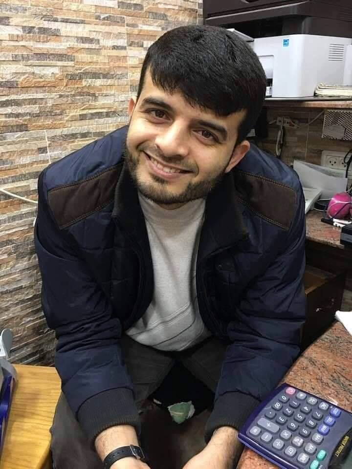 Repose en paix, Hamed Al-Khoudari, 34 ans. Sa voiture a été frappée par un missile israélien hier
