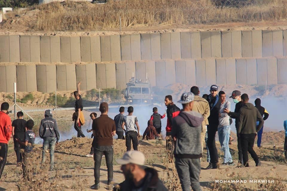 Scènes de la 58ème semaine de la Grande Marche du Retour sur les frontières de Gaza.2