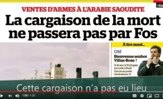 Mobilisation contre la guerre au Yémen dans les ports de France !