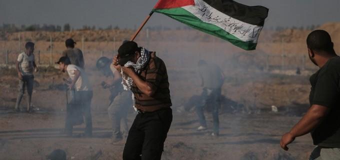 Scènes de la répression israélienne lors de la Manifestation du Grand Retour hier