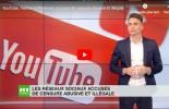 YouTube, Twitter et Pinterest accusés de censure abusive et illégale
