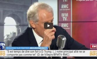 [Vidéo] | Le coup de gueule de Dominique de Villepin contre le deal du siècle pour la Palestine