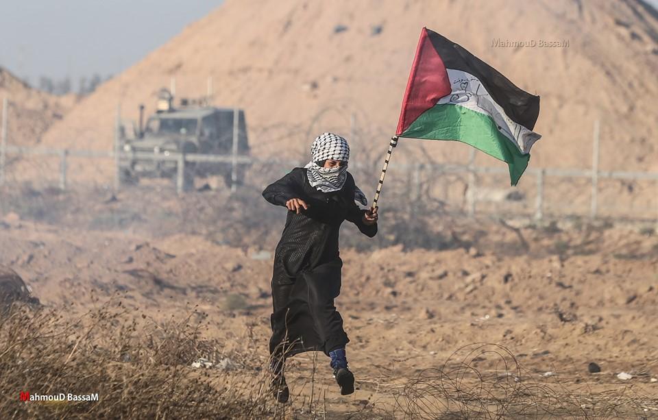 Les scènes de la Grande Marche du Retour de Gaza hier1