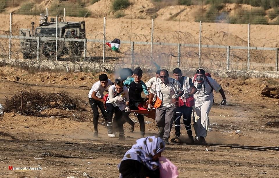 Les scènes de la Grande Marche du Retour de Gaza hier2