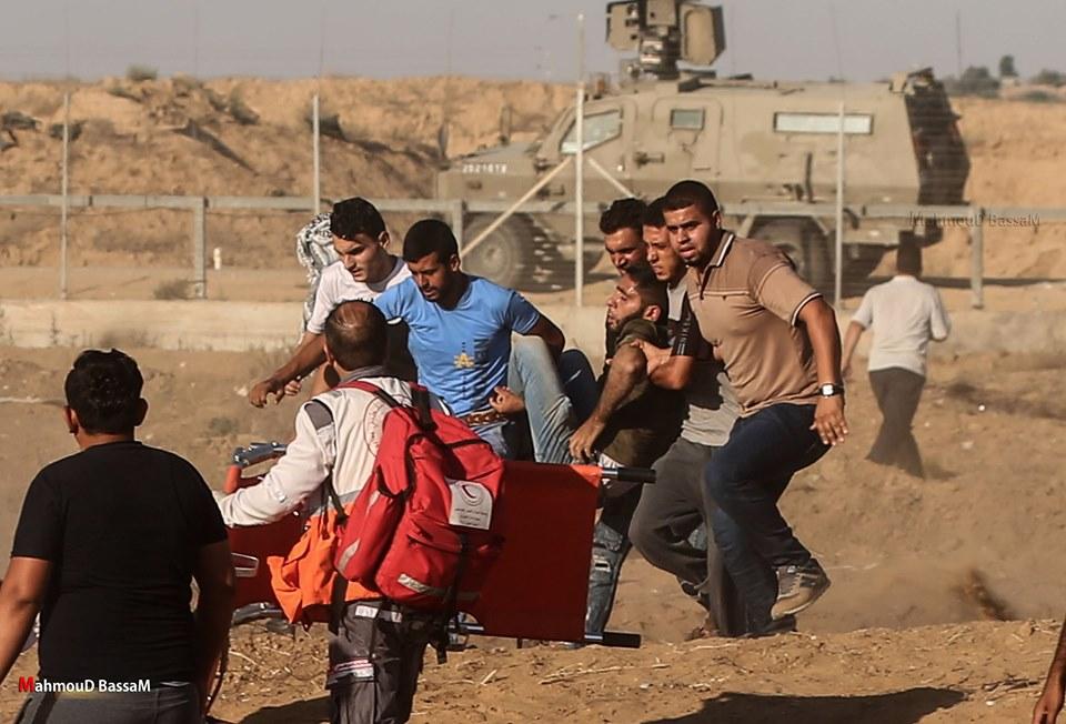 Les scènes de la Grande Marche du Retour de Gaza hier3