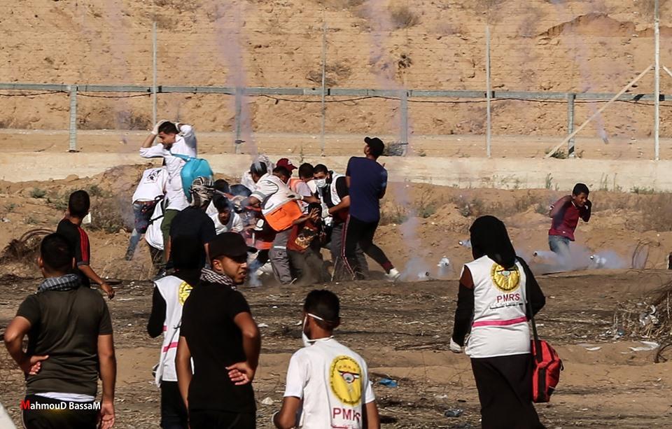 Les scènes de la Grande Marche du Retour de Gaza hier4