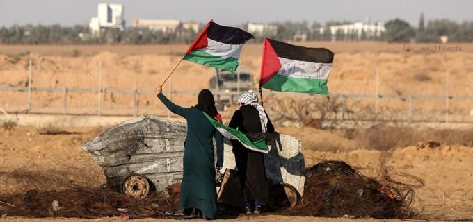 Les scènes de la Grande Marche du Retour de Gaza hier