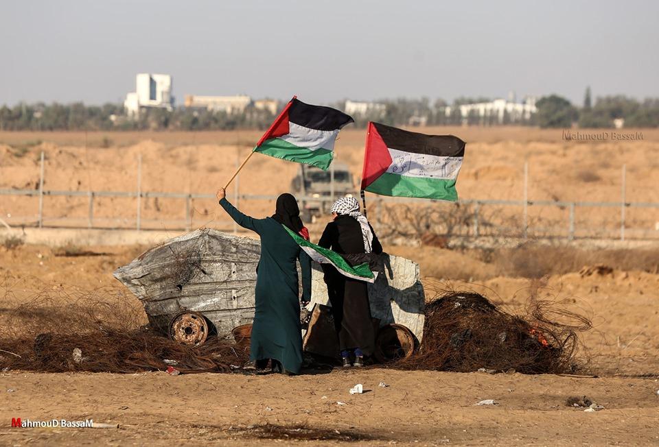 Les scènes de la Grande Marche du Retour de Gaza hier5