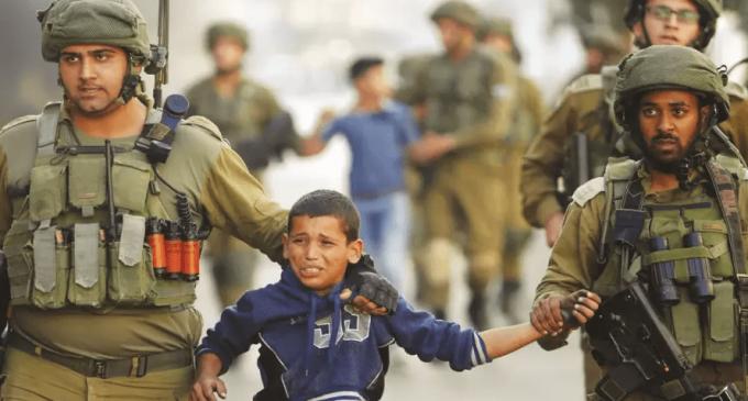 ISRAËL A TUÉ 16 ENFANTS PALESTINIENS À GAZA CETTE ANNÉE